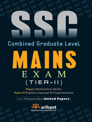 Buy SSC Combined Graduate Level Mains Exam (Tier - 2) Paper 1 and 2 4th Edition: Book