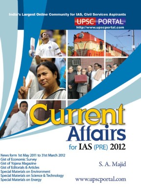 Buy Current Affairs For IAS (PRE) 2012: Book