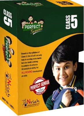 Buy Perfect Genius Class 5 for Olympiads, Maths, EVS, logic, English (English) 2nd Edition: Book