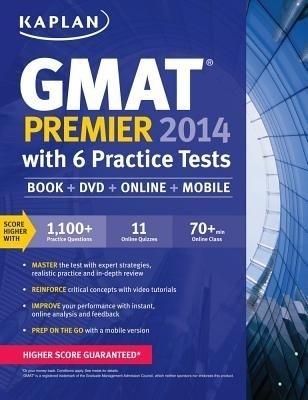 Kaplan GMAT Premier with Access Code [With DVD] price comparison at Flipkart, Amazon, Crossword, Uread, Bookadda, Landmark, Homeshop18
