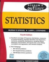 Statistics, 4/e (Schaums Outline Series) (SIE) (English) 4th Edition: Book
