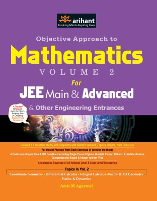 Objective Approach to Mathematics for JEE Main & Advanced and Other Engineering Entrances (Volume - 2) price comparison at Flipkart, Amazon, Crossword, Uread, Bookadda, Landmark, Homeshop18