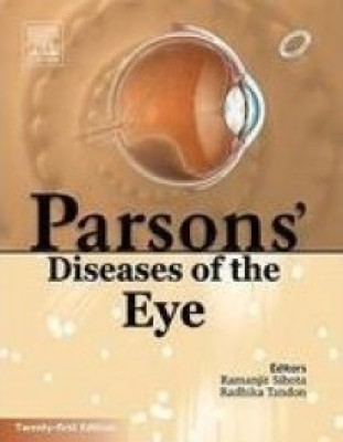 Buy Parson's Diseases of the Eye, 21ED (English) 21st Edition: Book