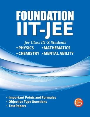 Foundation IIT-JEE for Class IX-X Students price comparison at Flipkart, Amazon, Crossword, Uread, Bookadda, Landmark, Homeshop18