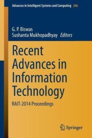 Recent Advances in Information Technology: Rait-2014 Proceedings (English) (Paperback)