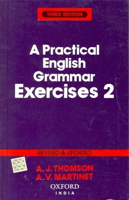 A PRACTICAL ENGLISH GRAMMER EXERCISES 2 3rd  Edition price comparison at Flipkart, Amazon, Crossword, Uread, Bookadda, Landmark, Homeshop18