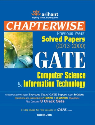 Buy GATE Computer Science and Information Technology: Chapterwise Previous Years' Solved Papers (2013 - 2000): Book