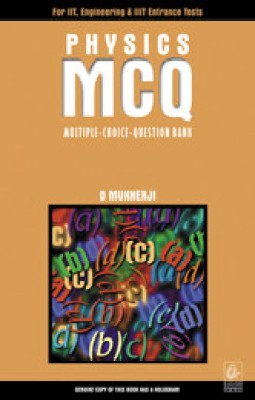 Physics MCQ (Multiple-Choice-Question Bank) price comparison at Flipkart, Amazon, Crossword, Uread, Bookadda, Landmark, Homeshop18