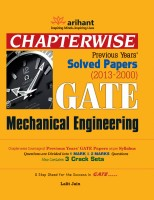 GATE Mechanical Engineering: Chapterwise Previous Years' Solved Papers (2013 - 2000): Book