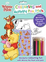 Disney WTP: Colouring And Activity Fun Pack: Book