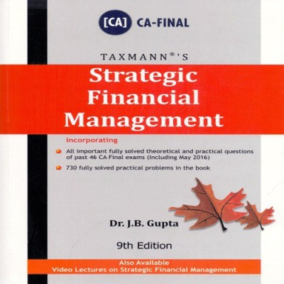 Strategic Financial Management for CA Final