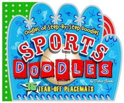 Sports Doodles Doodle And Learn Placemats By Deborah Zemke Buy Novelty Book Edition At Best