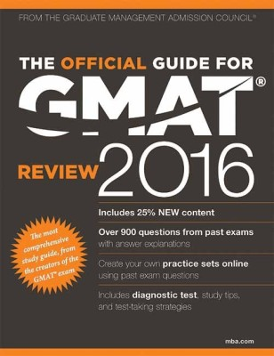 The Official Guide for GMAT Review 2016 (English) price comparison at Flipkart, Amazon, Crossword, Uread, Bookadda, Landmark, Homeshop18