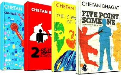Buy Chetan Bhagat Combo Of 4 Books (English): Book