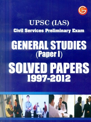 UPSC IAS Civil Services Preliminary exam general studies solved papers, 1997 - 2012 (paper - 1) 1st Edition price comparison at Flipkart, Amazon, Crossword, Uread, Bookadda, Landmark, Homeshop18