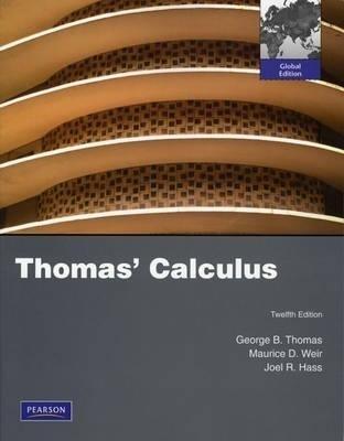 Thomas' Calculus price comparison at Flipkart, Amazon, Crossword, Uread, Bookadda, Landmark, Homeshop18