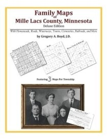 Family Maps of Mille Lacs County, Minnesota (English) (Paperback)