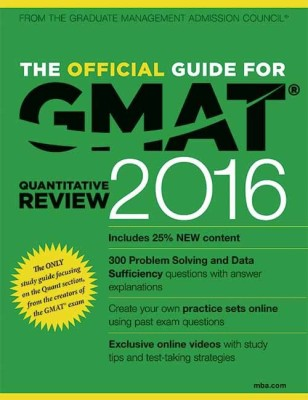 The Official Guide for GMAT Quantitative Review 2016 (English) price comparison at Flipkart, Amazon, Crossword, Uread, Bookadda, Landmark, Homeshop18