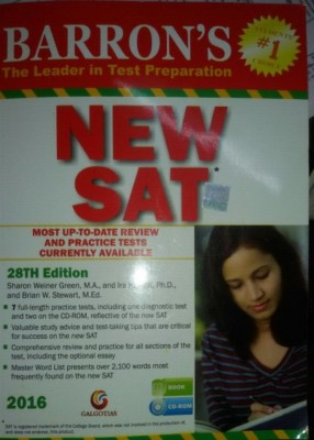 BARRON's NEW SAT, 28th edn. (English) price comparison at Flipkart, Amazon, Crossword, Uread, Bookadda, Landmark, Homeshop18