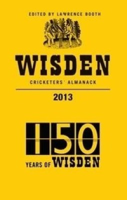 Wisden Cricketers' Almanack 2013 price comparison at Flipkart, Amazon, Crossword, Uread, Bookadda, Landmark, Homeshop18