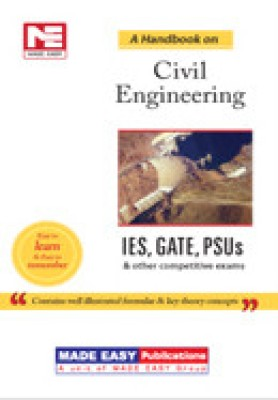 Buy IES, GATE, PSUs: A Handbook on Civil Engineering: Book