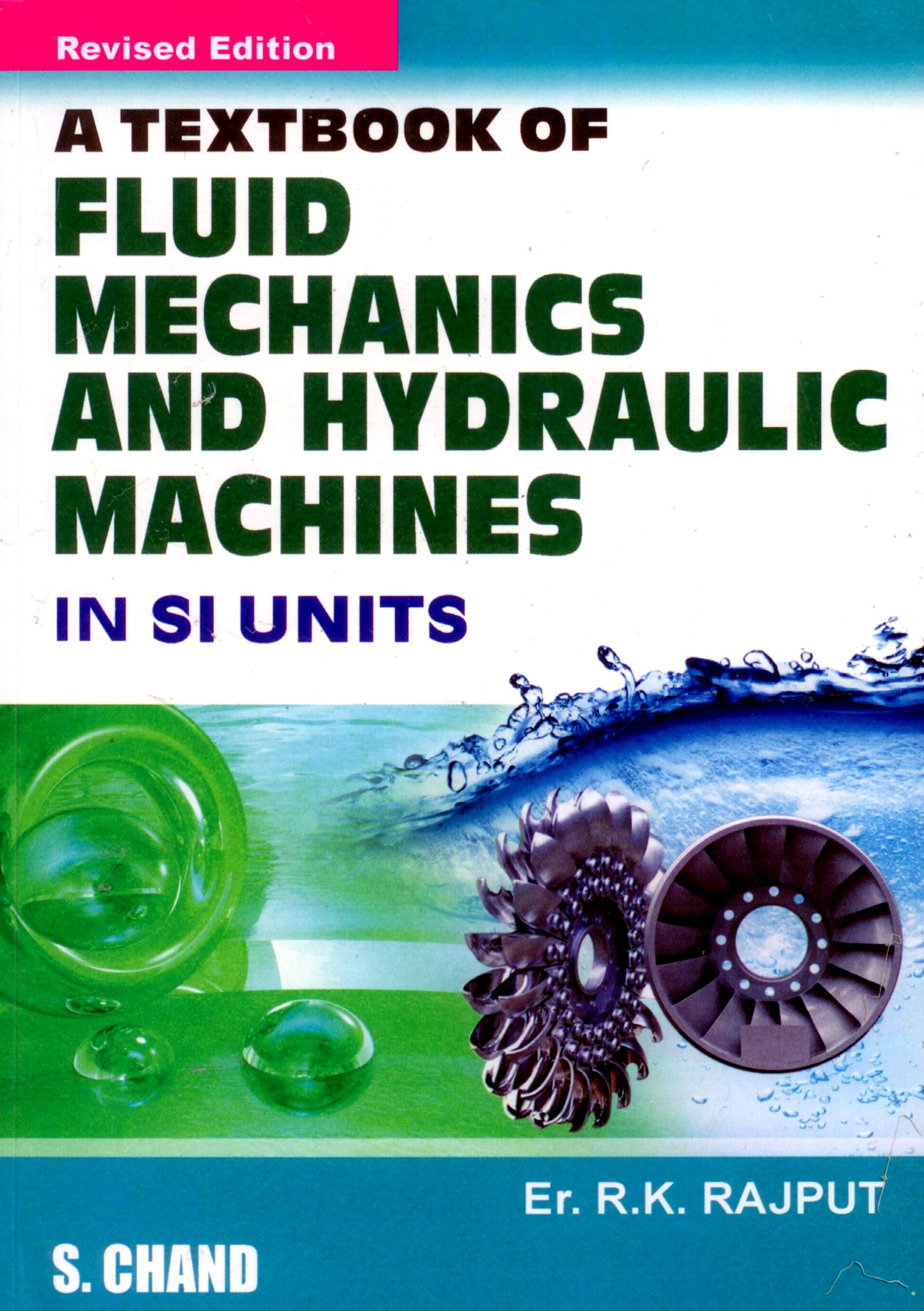 fluid mechanics by rk rajput pdf