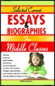 SELECTED CURRENT ESSAYS & BIOGRAPHIES FOR MIDDLE CLASSES (English): Book