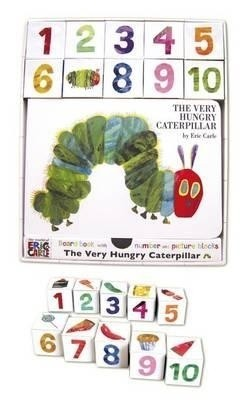 Buy Very Hungry Caterpillar Board Book and Block Set (English): Book
