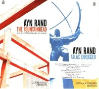 Ayn Rand / Atlas Shrugged / the Fountainhead (English): Book