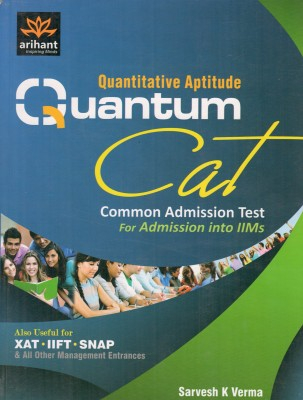 Buy Quantitative Aptitude Quantum CAT: Common Admission Test For Admission into IIMs 1st Edition: Book