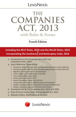 Book on Companies Act 2013 With Rules and Forms