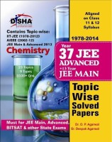 37 Years IIT - JEE Advanced + 13 Years JEE Main Topic Wise Solved Papers - Chemistry (English) 11th Edition: Book