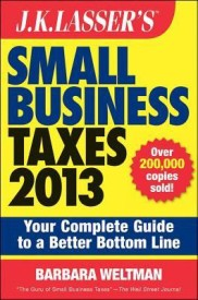 J.K. Lasser's Small Business Taxes 2013: Your Complete Guide to a Better Bottom Line (English) (Paperback)