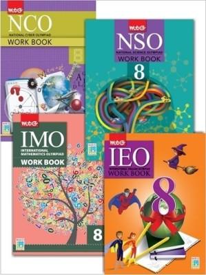 Class 8 - Workbook Combo for NCO, NSO, IMO, IEO price comparison at Flipkart, Amazon, Crossword, Uread, Bookadda, Landmark, Homeshop18