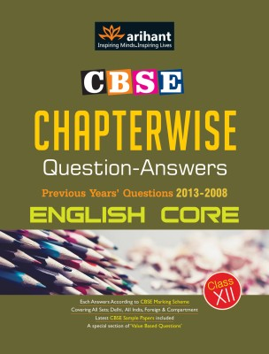 CBSE Chapterwise Questions-Answers : English Core Previous Years' Question 2013-2008 (Class- 12) price comparison at Flipkart, Amazon, Crossword, Uread, Bookadda, Landmark, Homeshop18