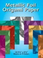Metallic Foil Origami Paper (English): Book
