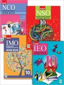 Class 10 - Workbook Combo for NCO, NSO, IMO, IEO (English) (Paperback)