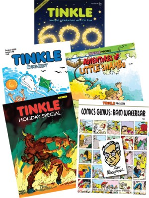 Buy TINKLE 600 COLLECTION (English): Book