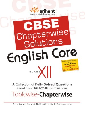 CBSE Chapterwise Solutions - English Core (Class 12) 3rd Edition price comparison at Flipkart, Amazon, Crossword, Uread, Bookadda, Landmark, Homeshop18