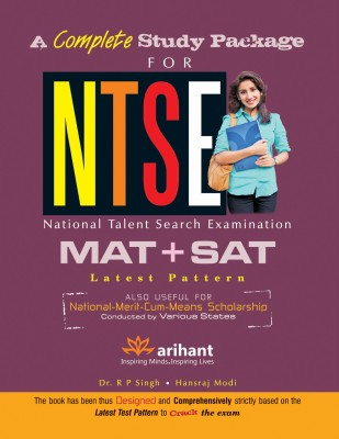 Buy A Complete Study Package for NTSE, MAT and SAT 1st Edition: Book