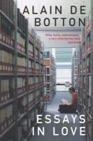 ESSAYS IN LOVE (English): Book