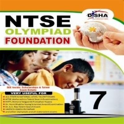 Buy NTSE Olymplaid Foundation (Class - 7) (English) 1st Edition: Book