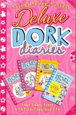 Dork Diaries Book Set 1-6 Hardcover Rachel Renee Russell Series 1 2 3 4 5 6