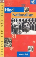 Hindi Nationalism - Tracts For The Times 13 PB: Book