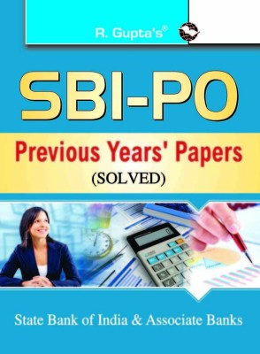 Buy SBI - PO State Bank of India & Associate Banks : Previous year's Papers (Solved) (English) 1st Edition: Book