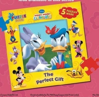Buy Jigsaw Puzzle Book: The Perfect Gift by DISNEY-English-The Walt Disney-Hardcover (English): Book