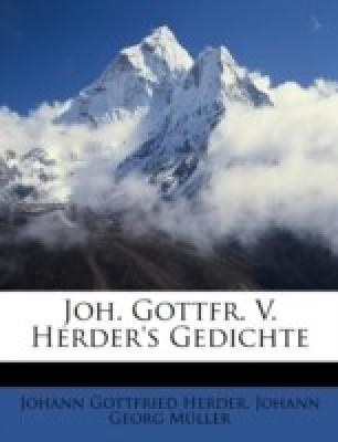 Johann Gottfried Herder gedichte