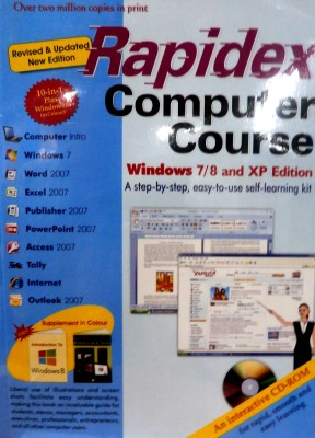 Buy Rapidex Computer Course (With CD) (English): Book