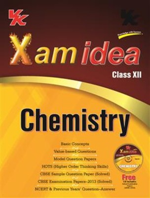 Buy Xam Idea Chemistry for Class - 12 (With CD) 1st  Edition: Book