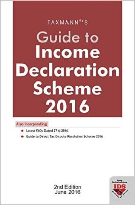 Book on income Declaration Scheme 2016